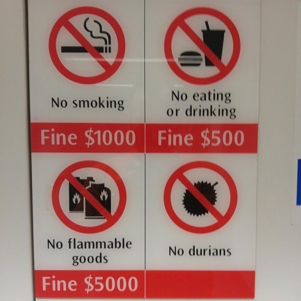 durian yasak