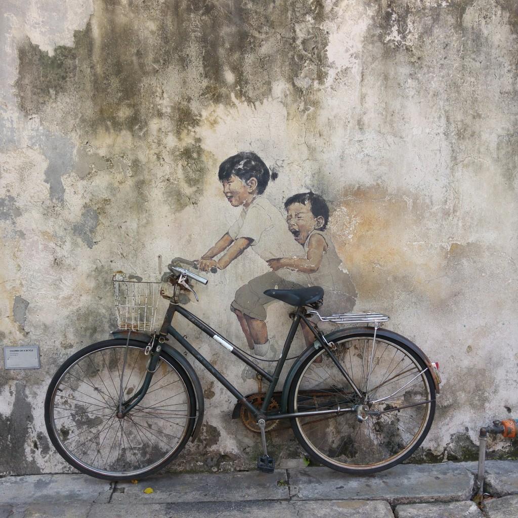 streetart bike