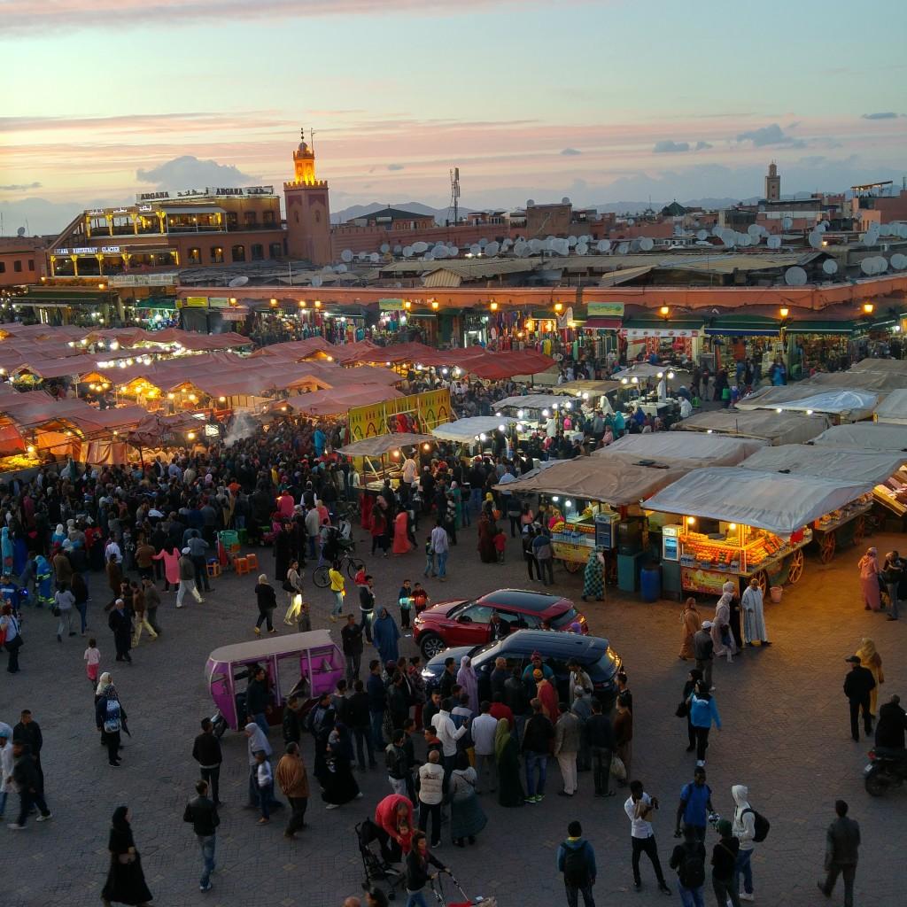 Marakech El Fna Square
