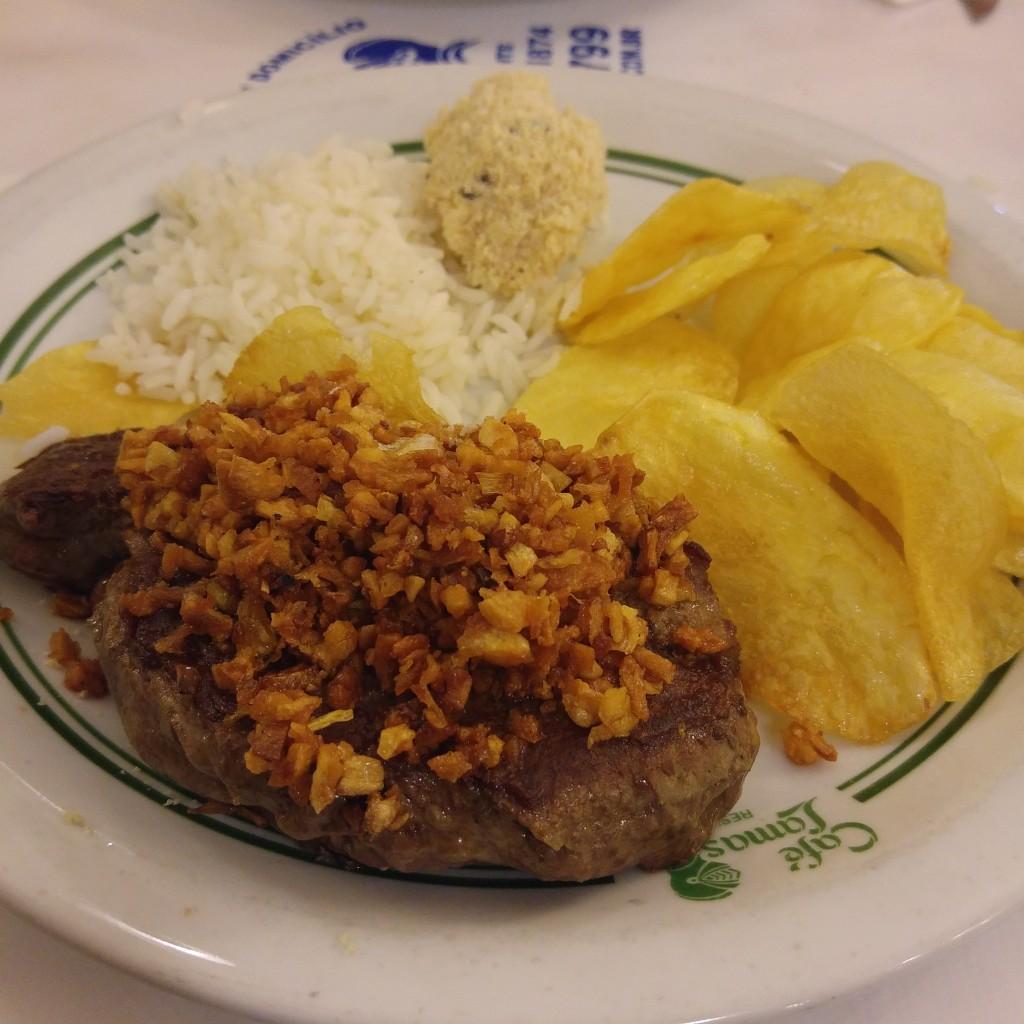 lamas steak
