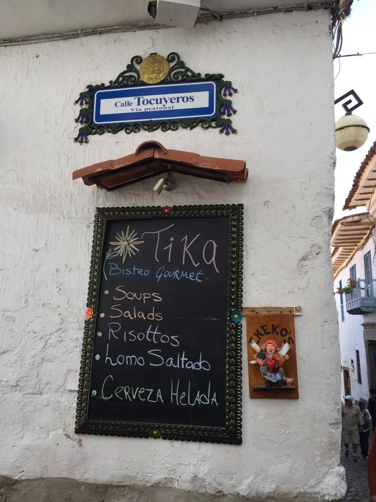 Cusco street names