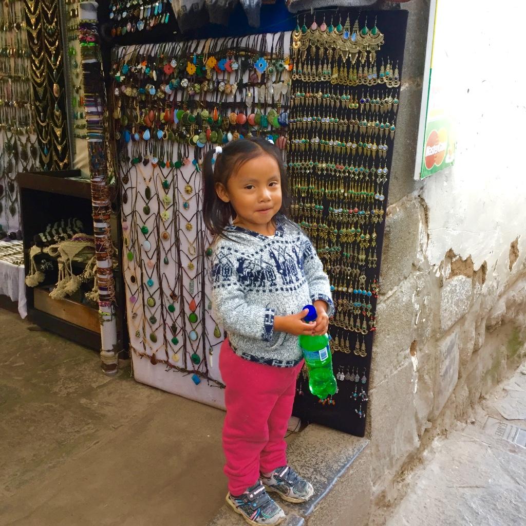 Peruvian kid