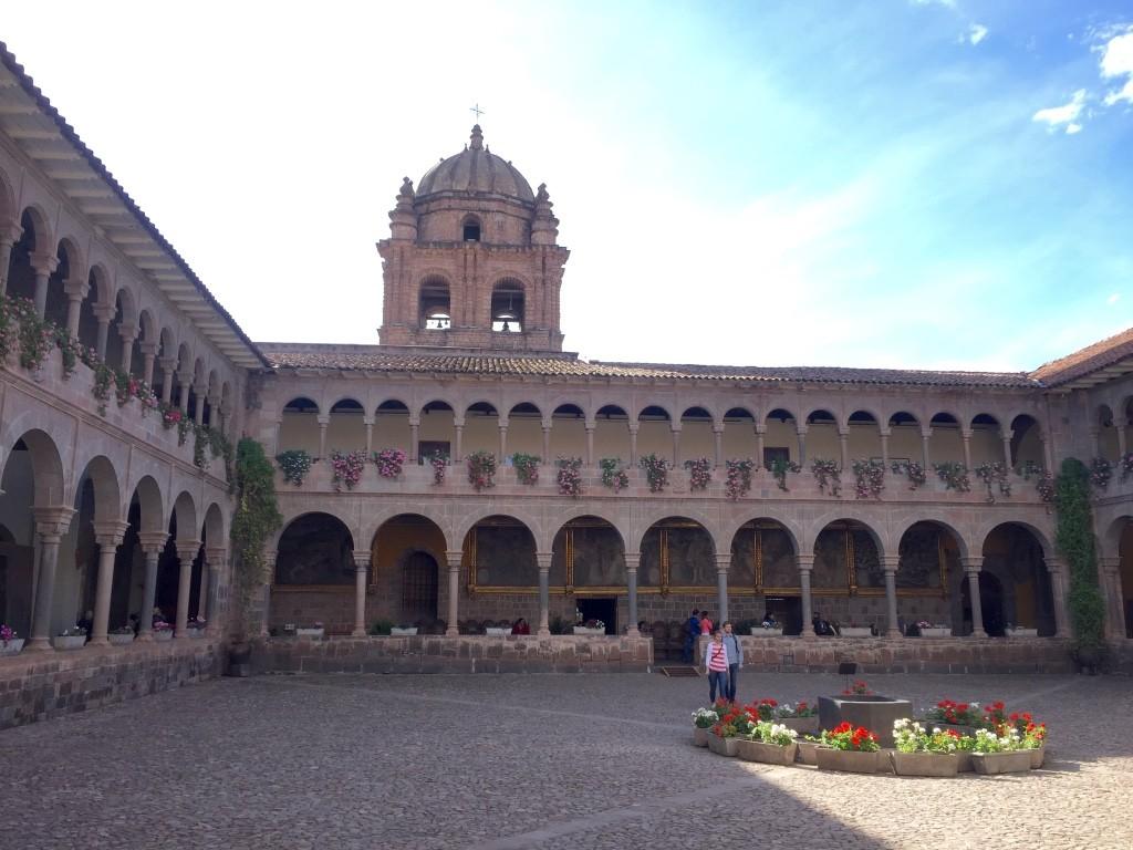 Temple of sun courtyard