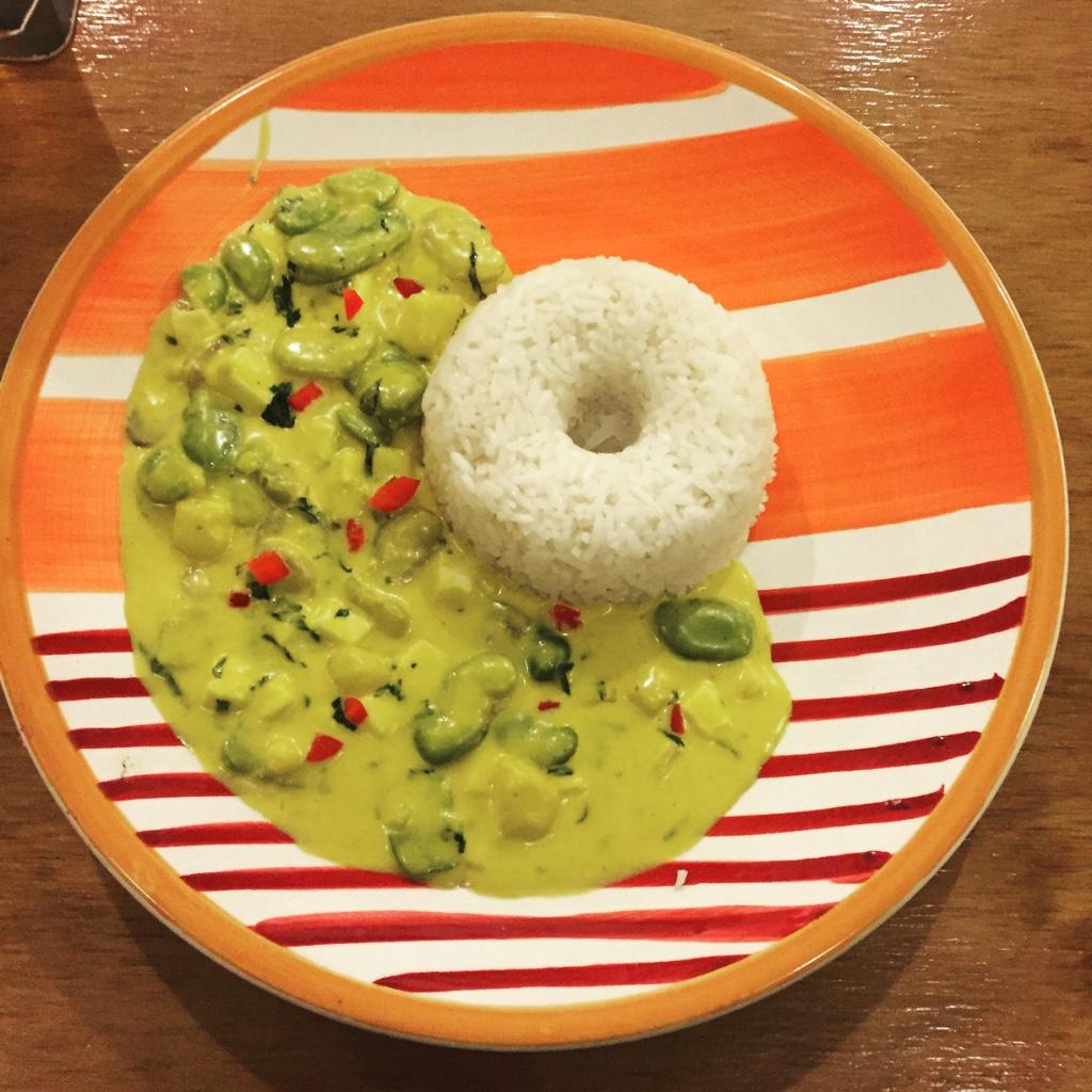 sepia cafe vegatable plate