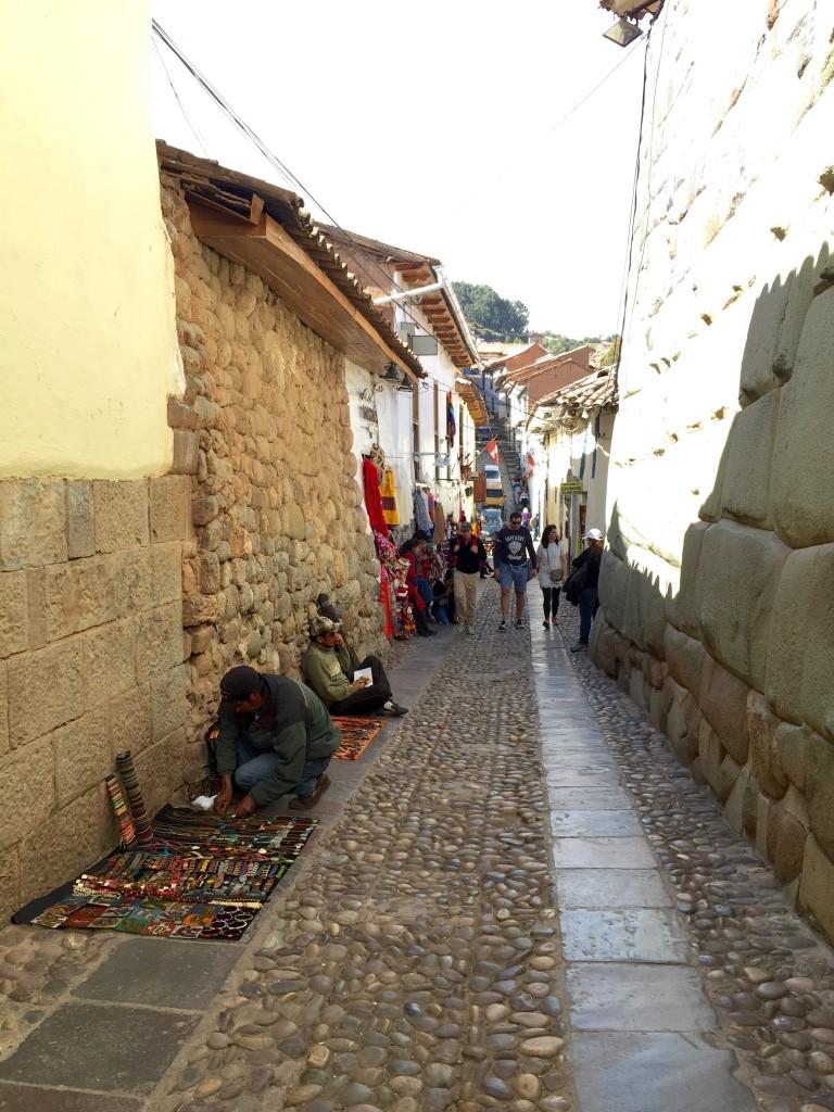 twelve angled stone street 1
