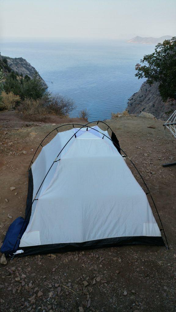 faralya çadır