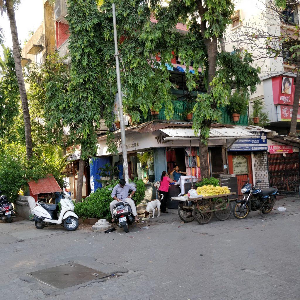 Renkli Juhu sokakları