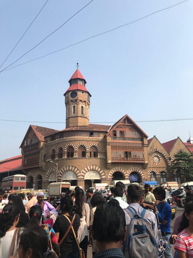 Crawford Market'ine giriş