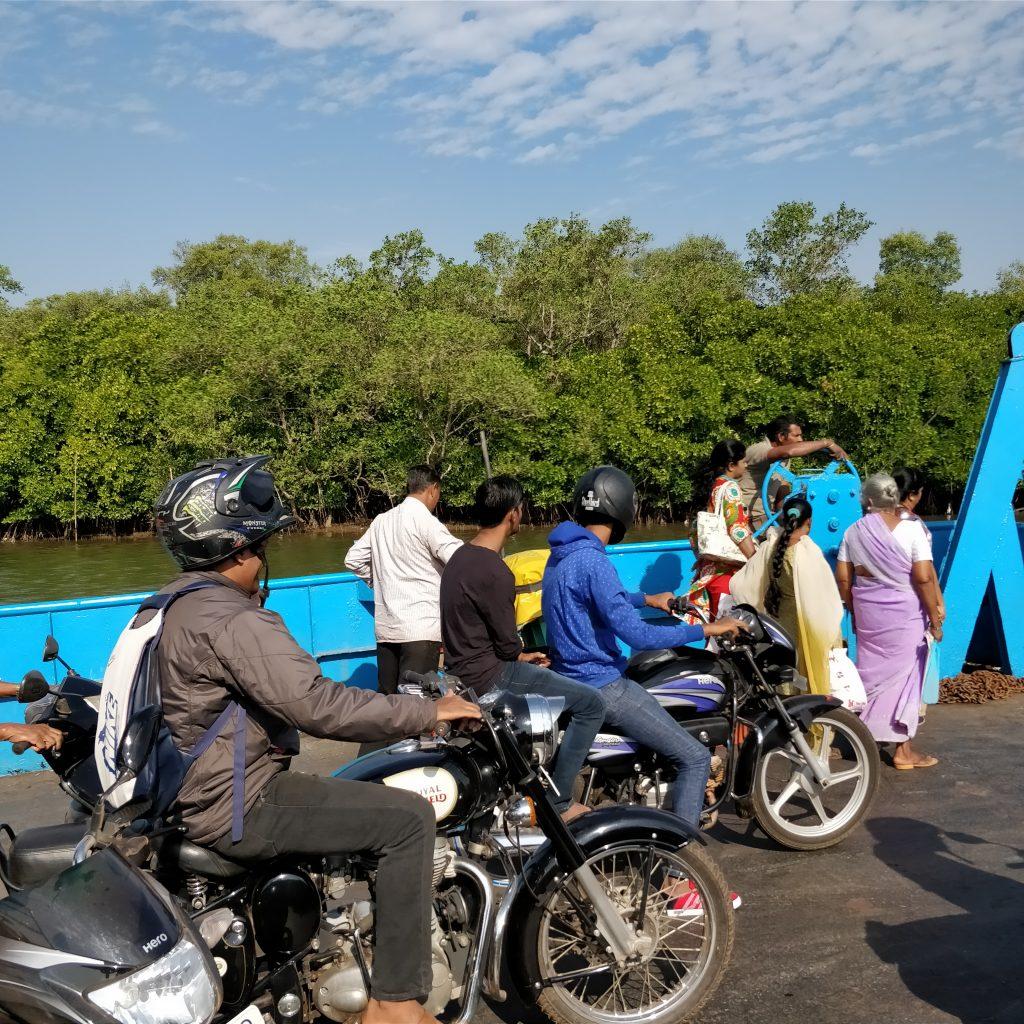 Chorao Ferry, Goa
