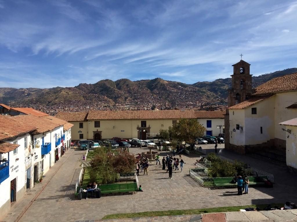 Plaza San Blas view