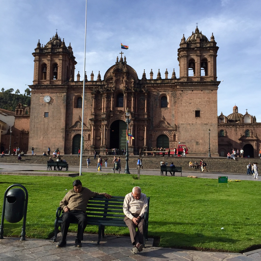 Plaza de Armas church