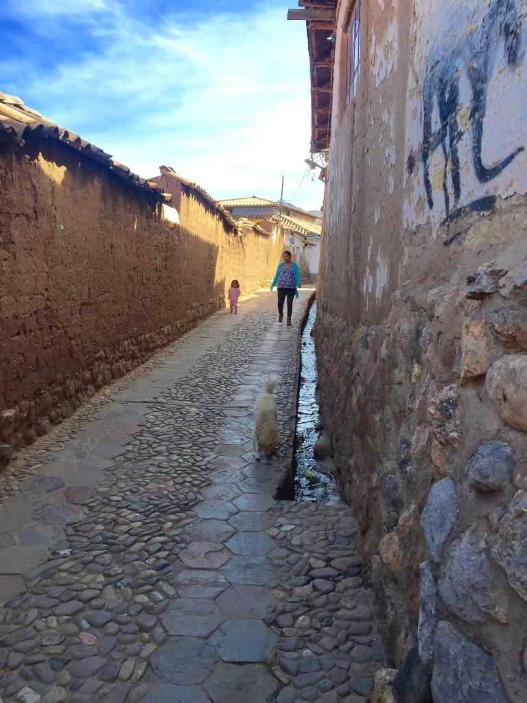 San Blas streets