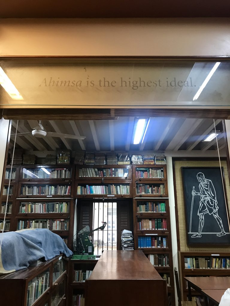 Mahatma Gandhi Müzesi'nden bir fotoğraf