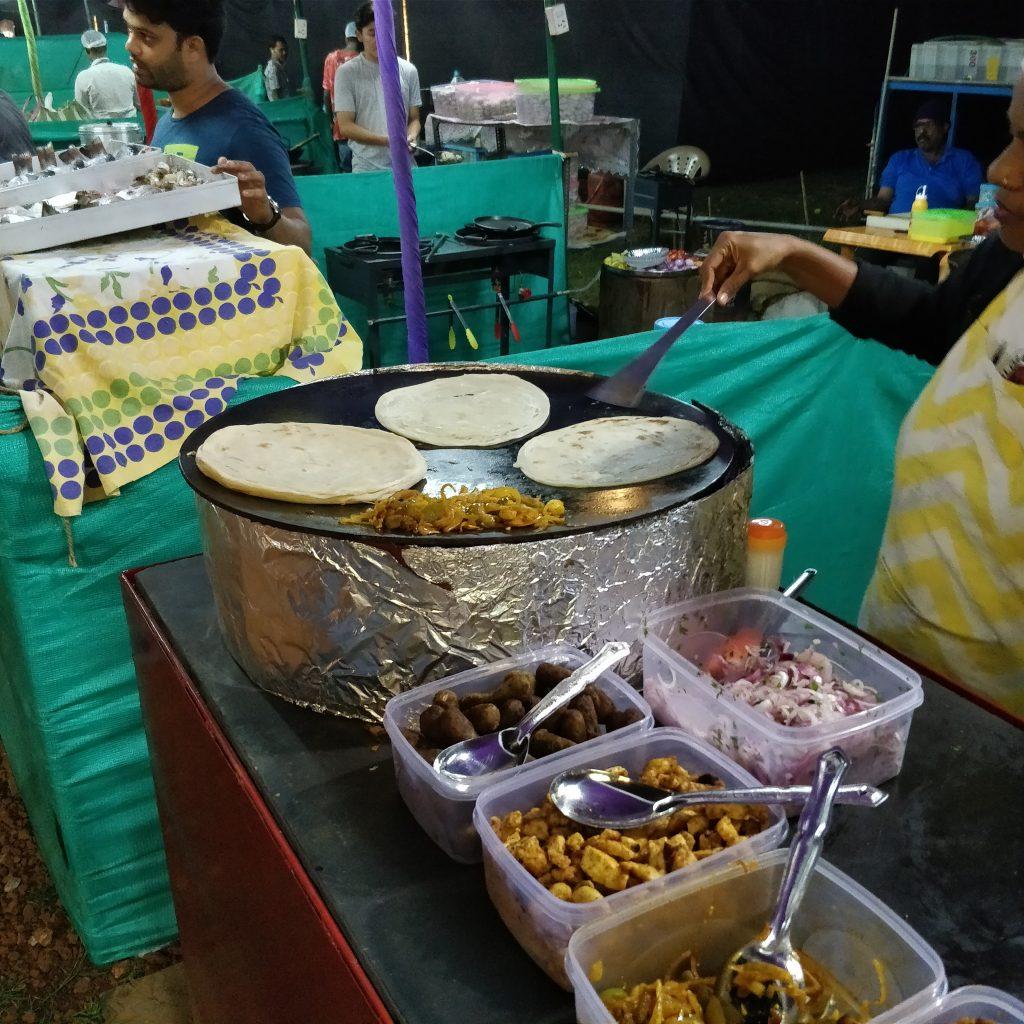 Mackies Saturday Nite Bazaar food