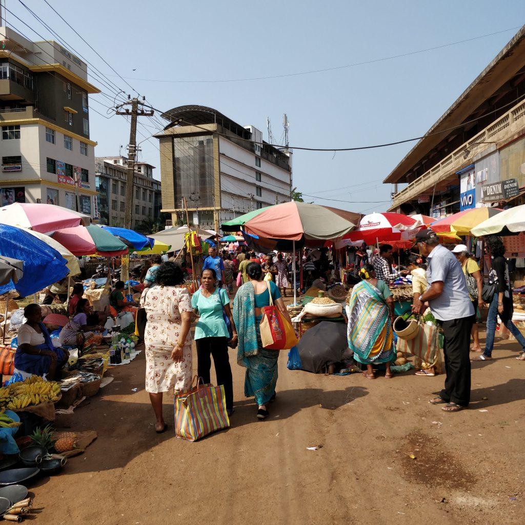 Mapusa Marketi, Meyve Sebze kısmı