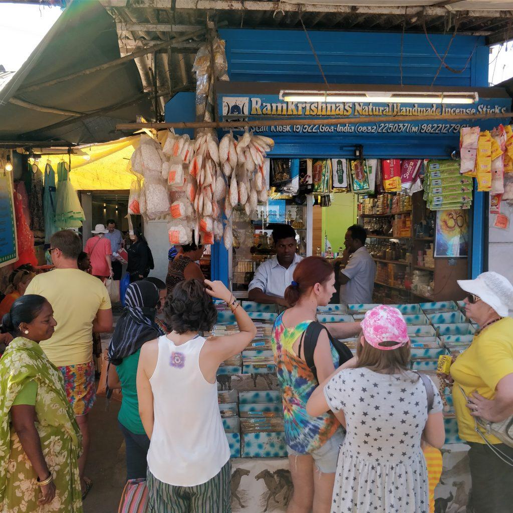 Mapusa Marketindeki tütsücü